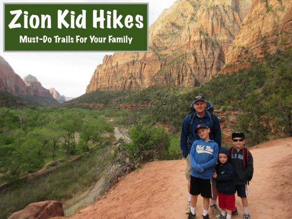 Zion Kid Hikes
