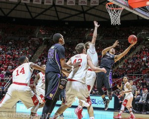 Utah Utes vs Washington Basketball 2015