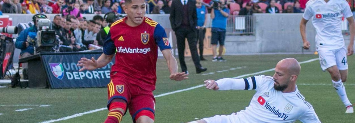 Real Salt Lake falls hard for LAFC