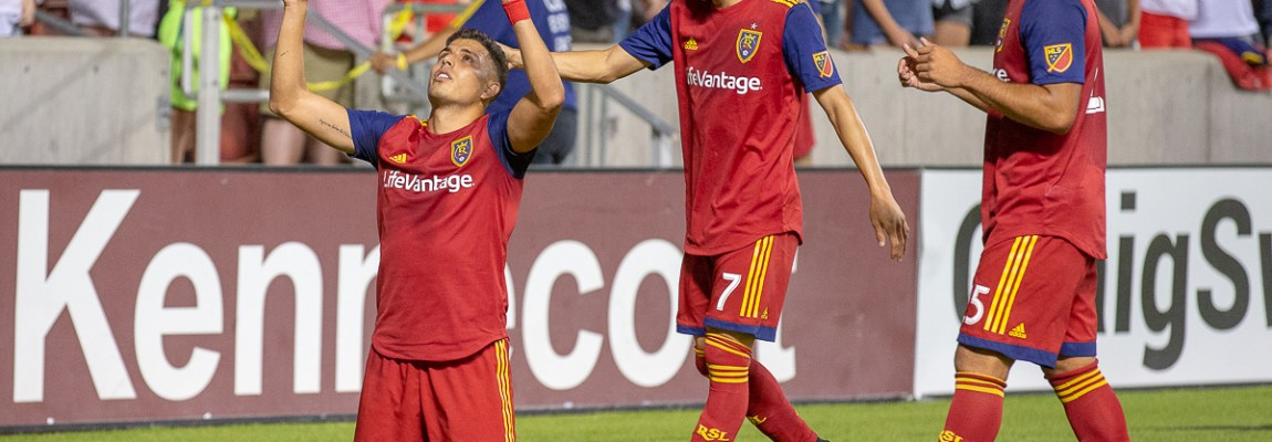 RSL doesn't let up for another hard fought home win