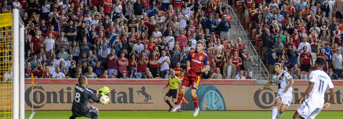 Krielach scores a hat trick, RSL goal differential moves to the positive and 3 points!