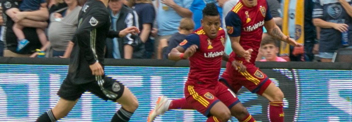 Nick Rimando saves the draw against SKC, over and over again