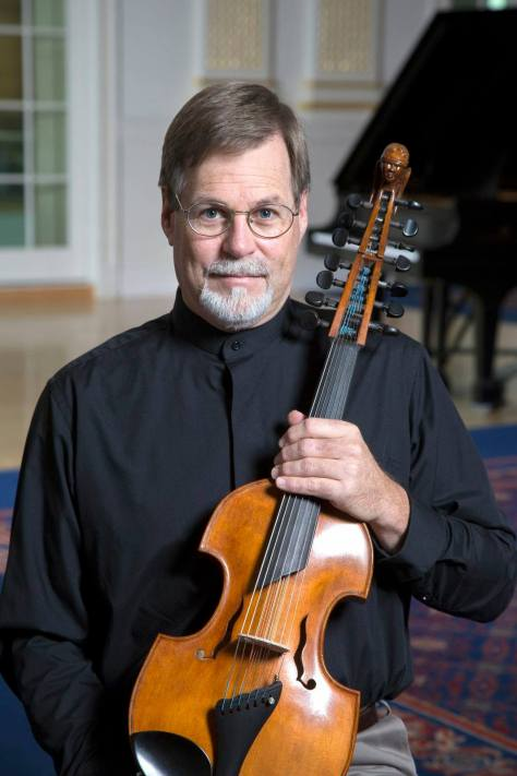 Professor Robert Baldwin and his Viola d'amore