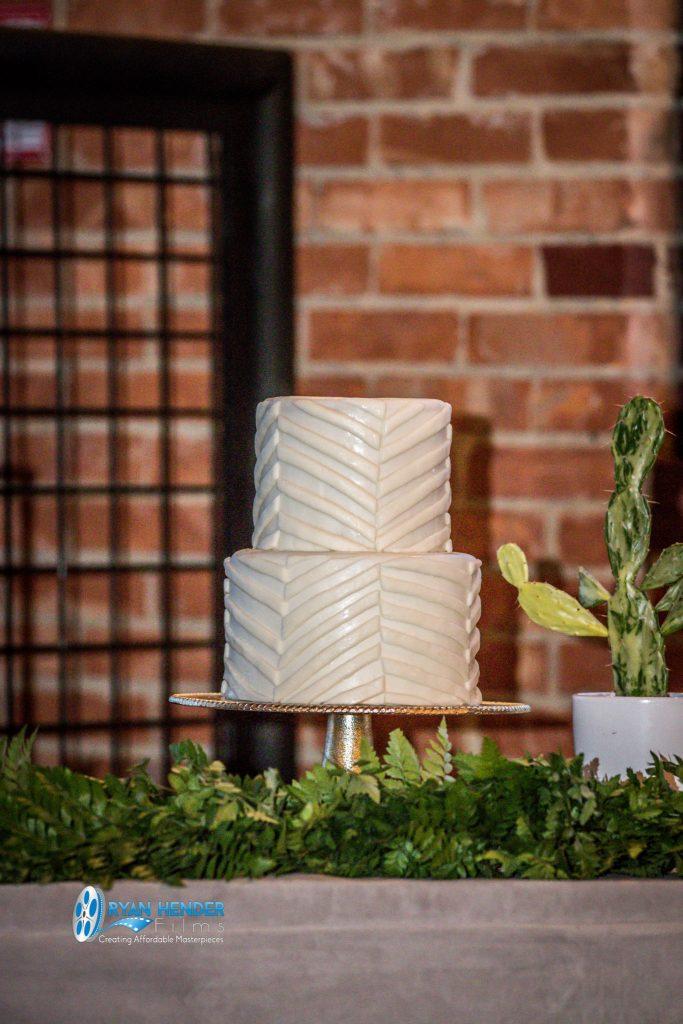 winter wonderland wedding cake Ryan hender films