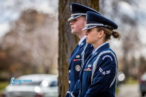 airforce funeral service salt lake city utah Ryan hender photography