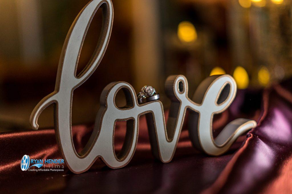 wedding rings in love wedding photography utah