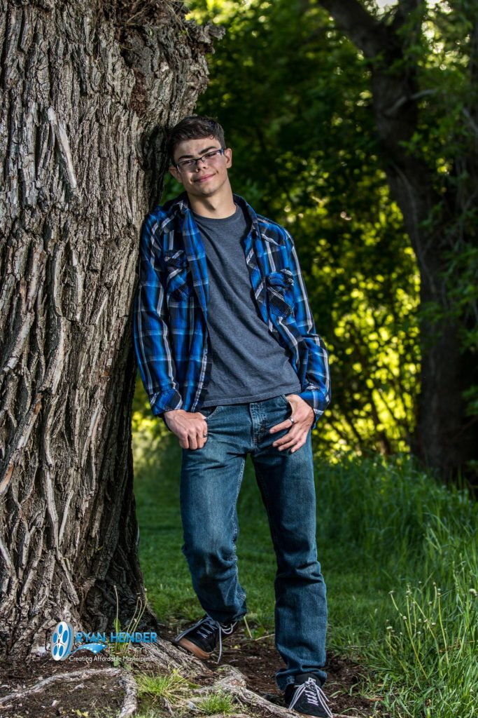 senior photo shoot Murray park utah
