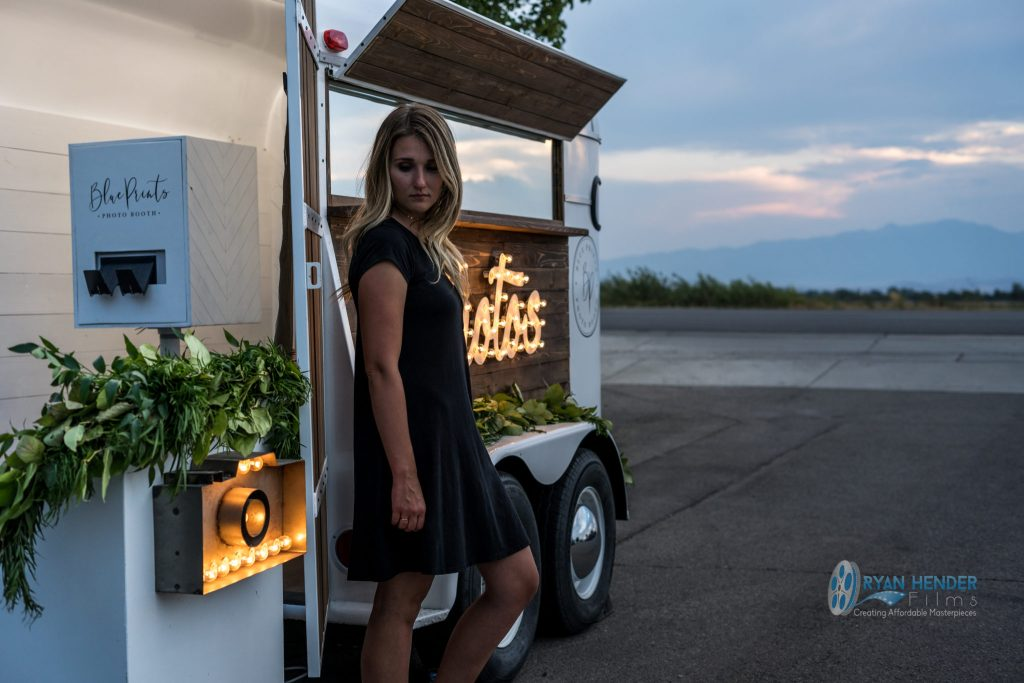 horse trailer photo booth utah