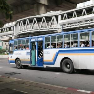 bangkok közlekedés busz