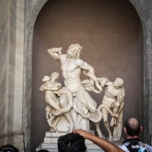 róma vatikán múzeum laokoon szobor