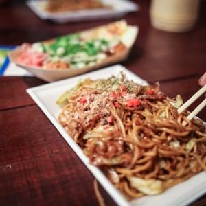 japán sült tészta halpehellyel