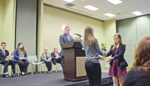 Students honored, memorialized