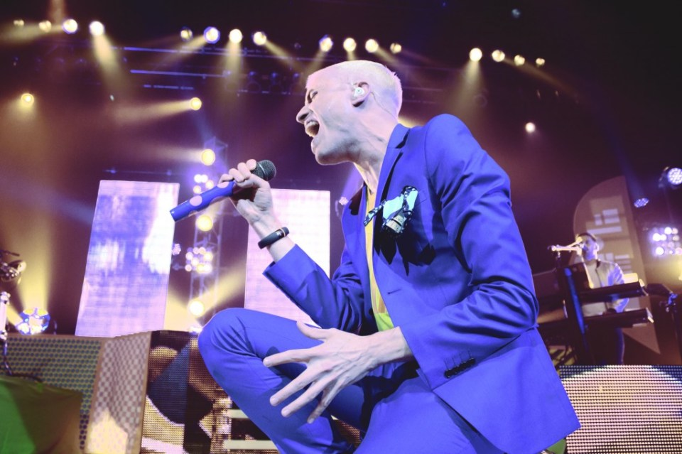 """Marcelo Yates Mercury Staff Frontman for rock band Neon Trees, Tyler Glenn crooned through fan favorites like """"Everybody Talks"""" during the June 1 show."""