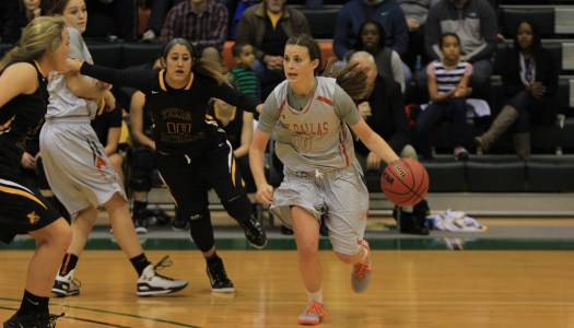 Women's basketball survives season opener with close win