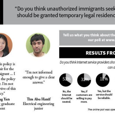 Comets on immigration