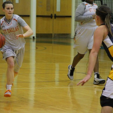 Senior guard's near triple-double spurs women's basketball team to takedown of ETBU