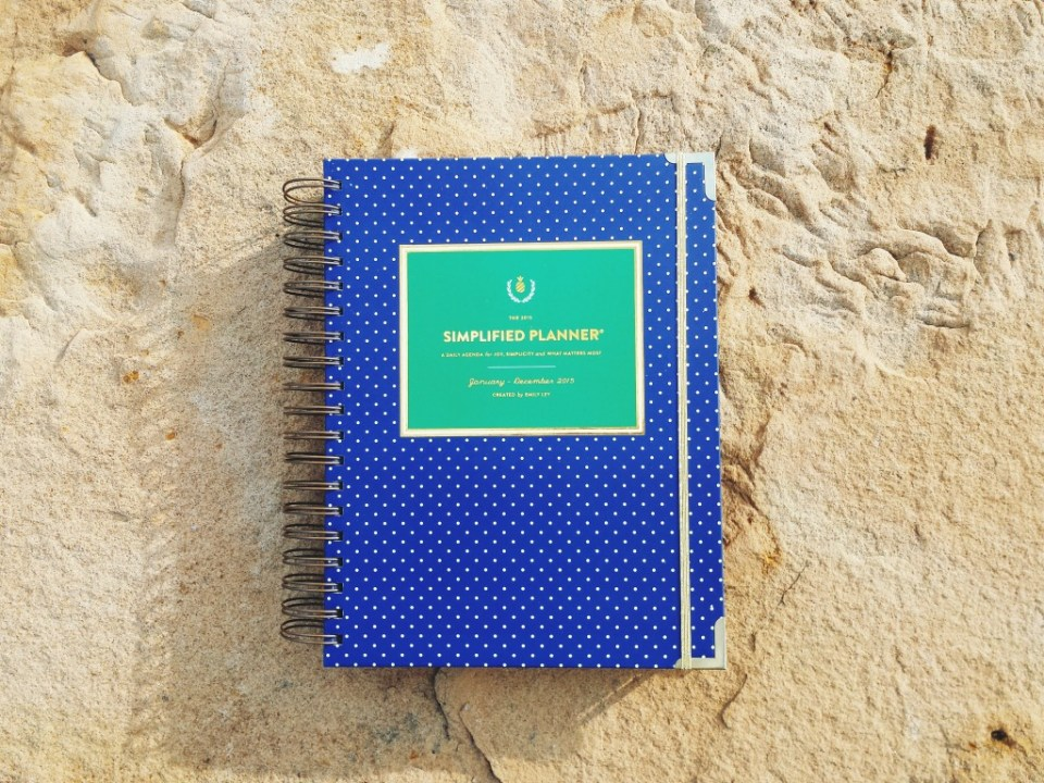 The Simplified Planner by Emily Ley is my 2015 planner pick, but there are planners available for all types of students.