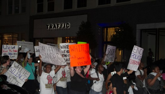 Protestors shut down downtown Dallas in support of Sandra Bland