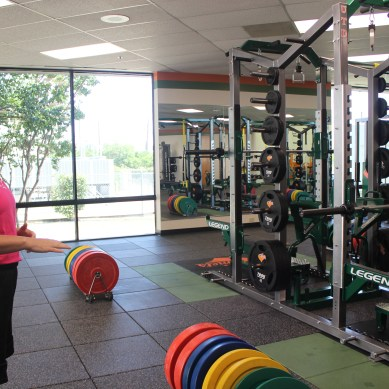 Strength and conditioning coach hopes to build program, help athletes