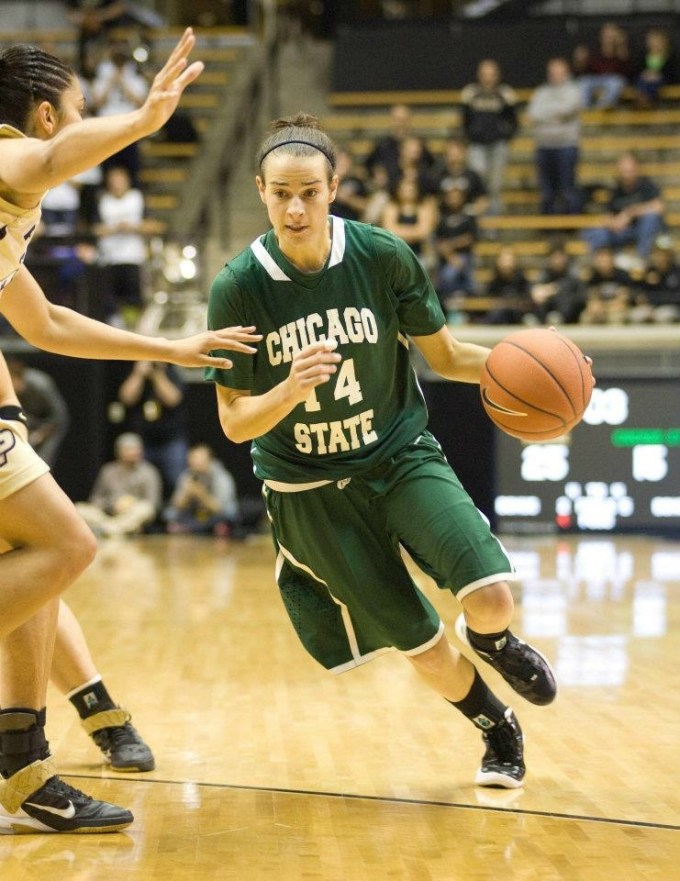 Natalie Marlowe, the new assistant women's basketball coach and assistant women's golf coach played at Chicago State University. (Natalie Marlowe | Courtesy)