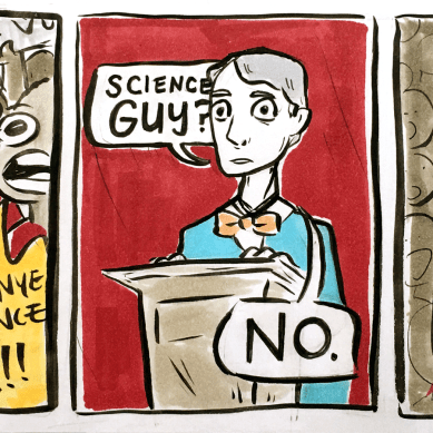 Science man