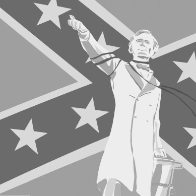 Confederate monuments symbolize white supremacy