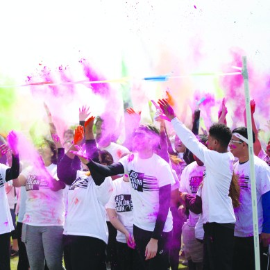 Students run to beat cancer
