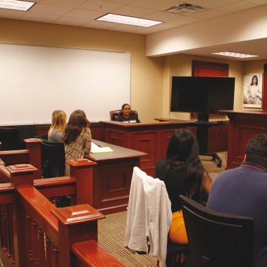 Mock Trial Takes First at Annual Tournament