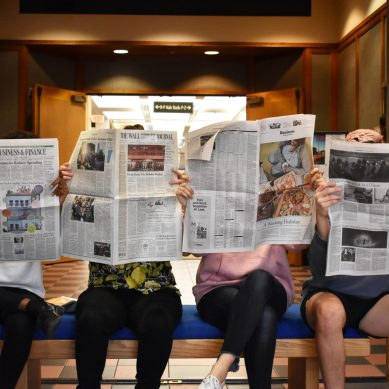 Survey Explores How Students Consume News