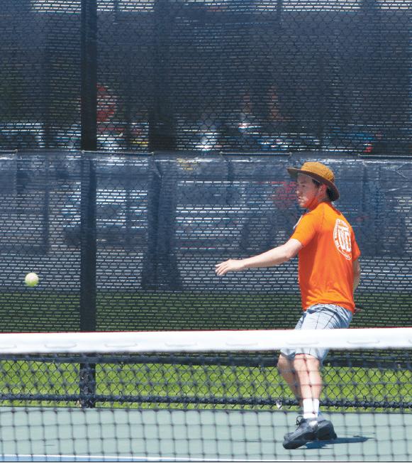 Men's Tennis Starts Season Anew