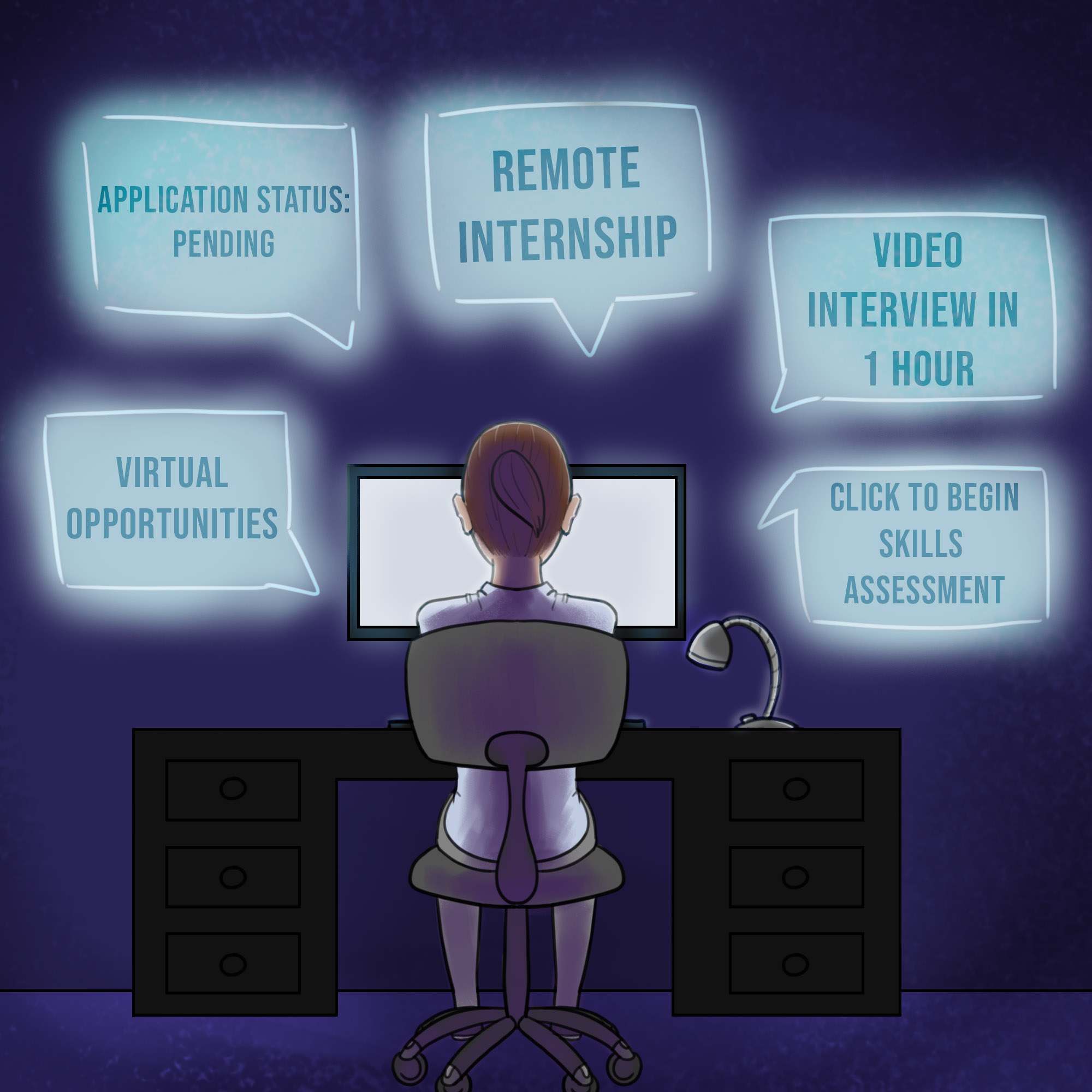 The virtual intern