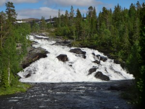 Ett fint vattenfall