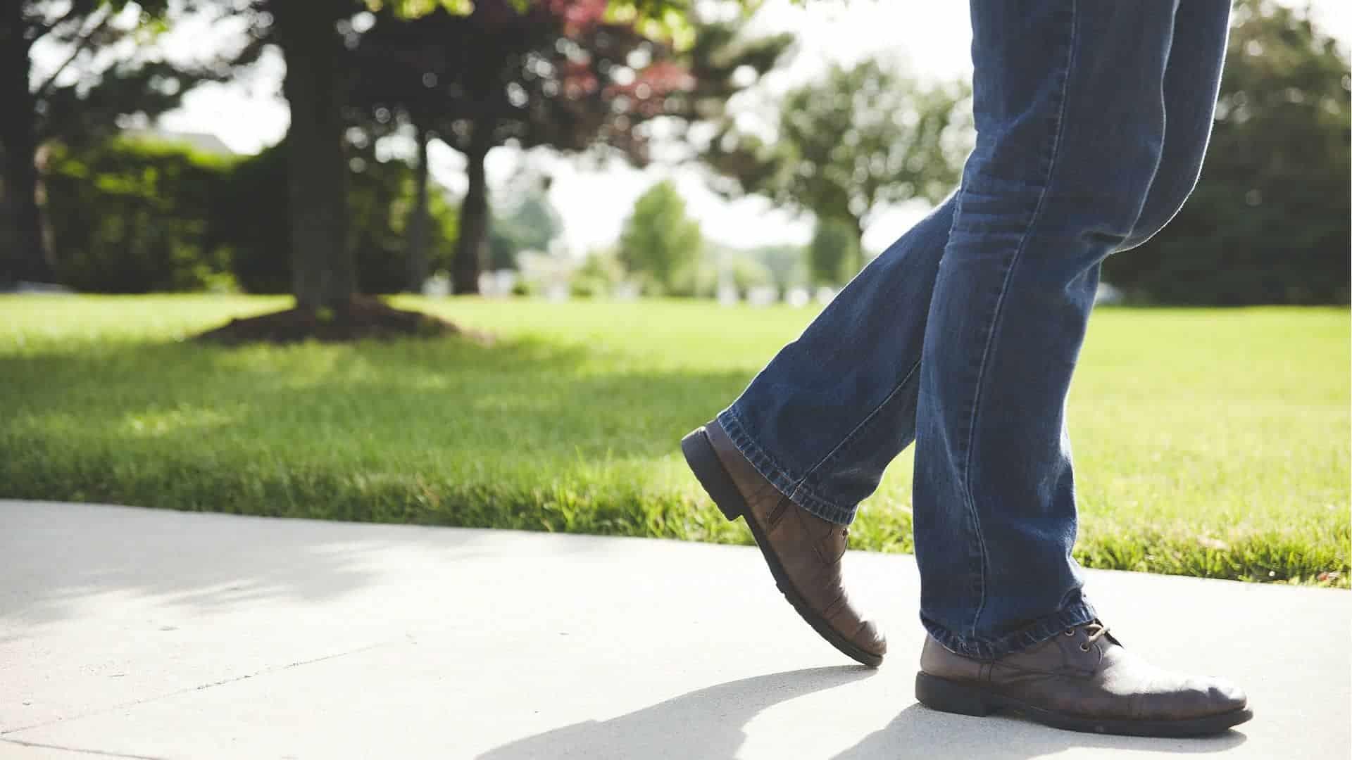 Att inte promenera är att gå för långt.