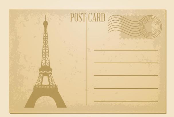 20 Free Printable Postcard Templates UTemplates