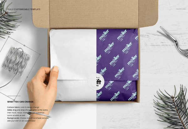 Download 10 Best Mailing Box Mockups in PSD | UTemplates