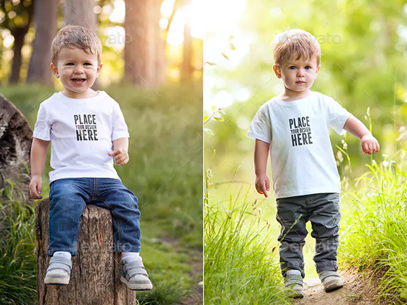 Find from apparel mockups to responsive mockups and everything in between. 15 Kids T Shirt Psd Mockups Utemplates