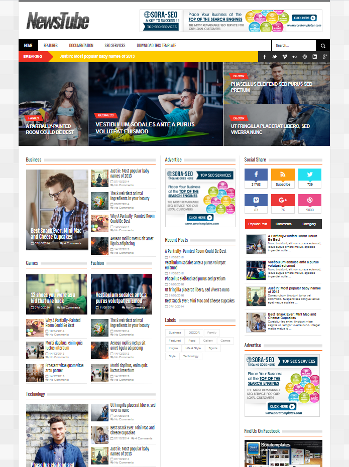 Wavefire view this free template ». 20 Best And Free Blogger Templates Of 2020 Utemplates