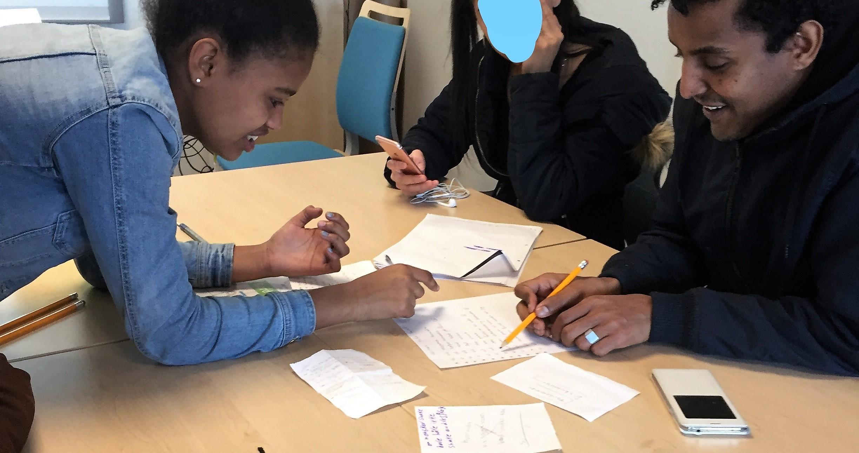 Glimt fra et flerspråklig klasserom