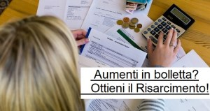 Aumenti in bolletta a causa di morosi