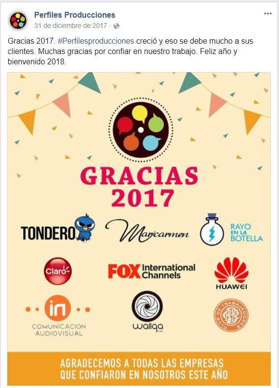 AH TONDERO, TODO ENCAJA. Imagen: captura Facebook