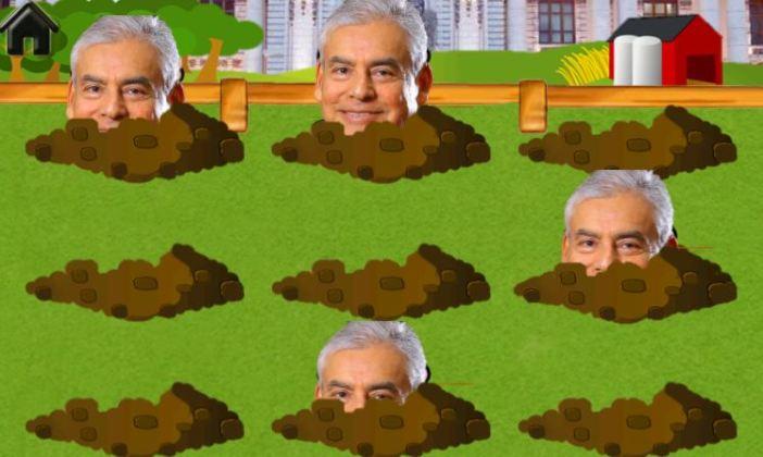 Encuentra al topo en el gobierno de Vizcarra. Composición: Útero.Pe