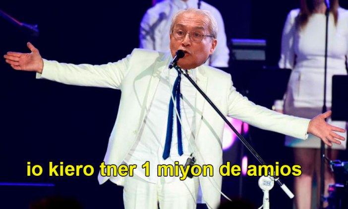 Fan de Roberto Carlos, resultó. Composición: Utero.pe