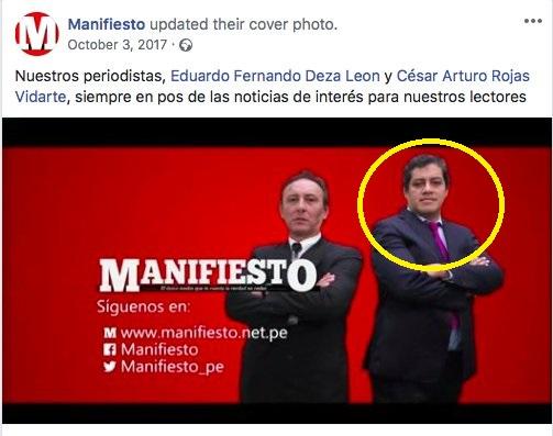 Imagen: Facebook Manifiesto