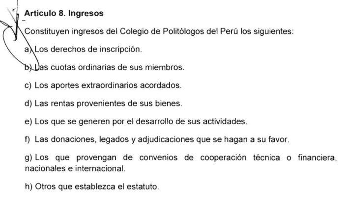 Imagen: Proyecto de ley