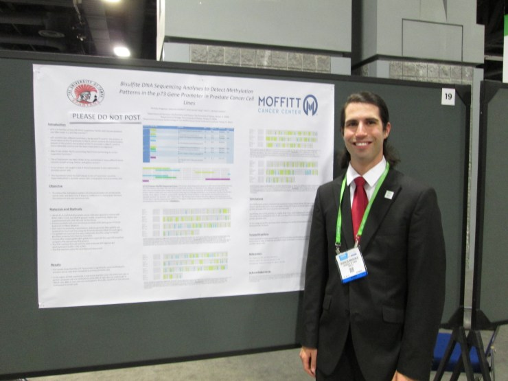 Nick Braganca at American Association for Cancer Research Annual Meeting