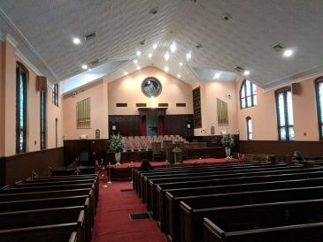 inside Ebenezer Baptist Church