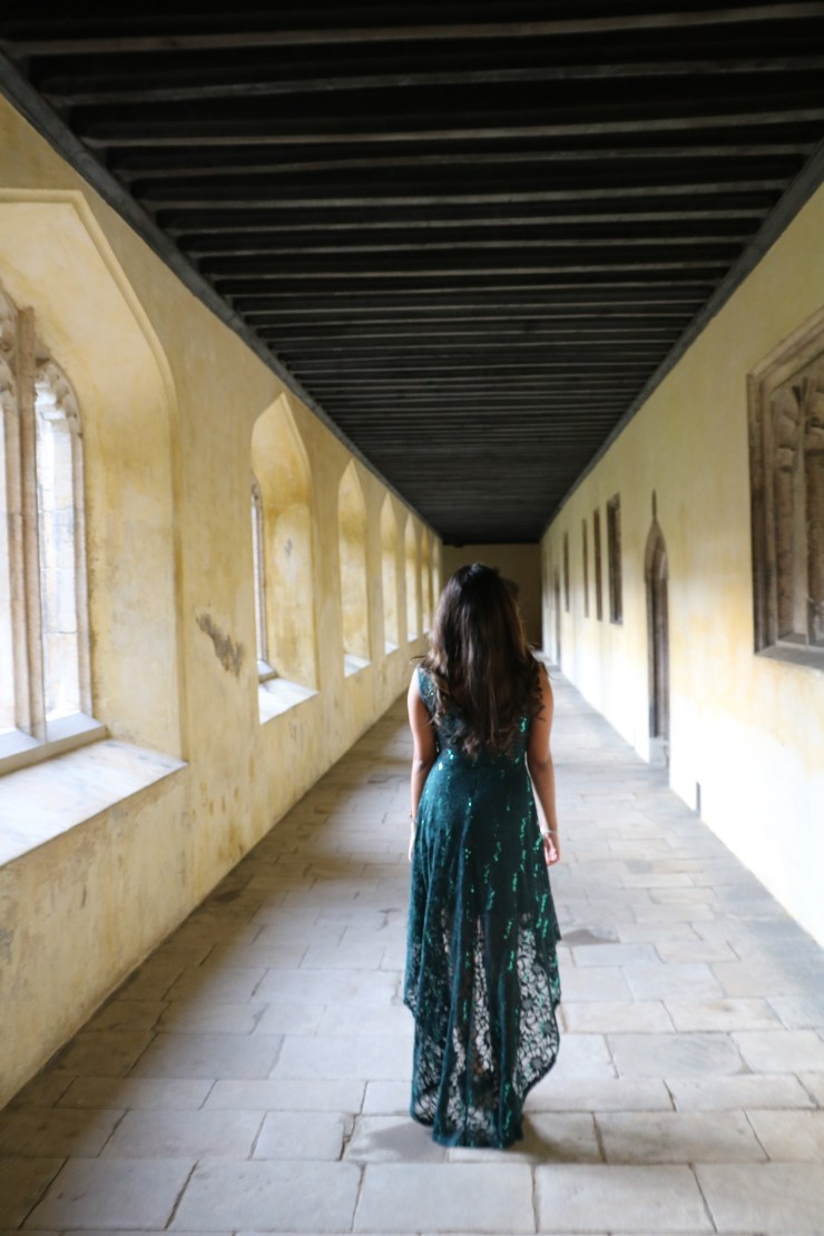 Gazing down the imposing, but equally inspiring, corridors at Magdalen College on the night of the Oxford Union Ball is a feeling I'll never forget.