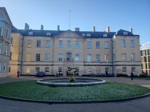 This is the Radcliffe Observatory Quarter, where my tutorials are held. It was formerly a hospital complex but now holds a multitude of Oxford departments.