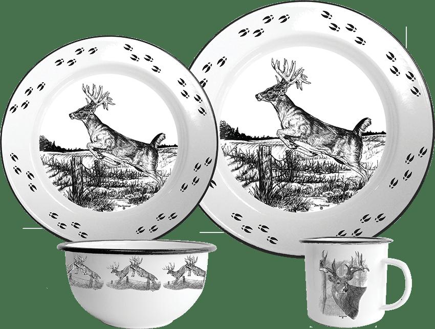 Deer II 16 Piece Set