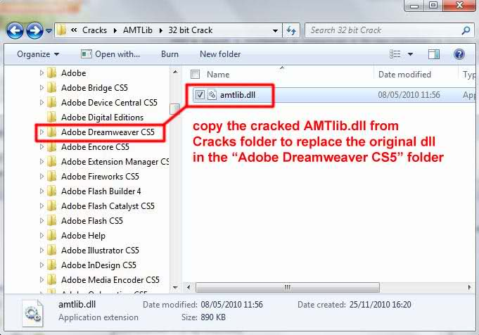 adobe cs5 master collection amtlib dll crack